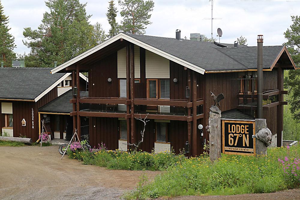Lodge67 rakennus