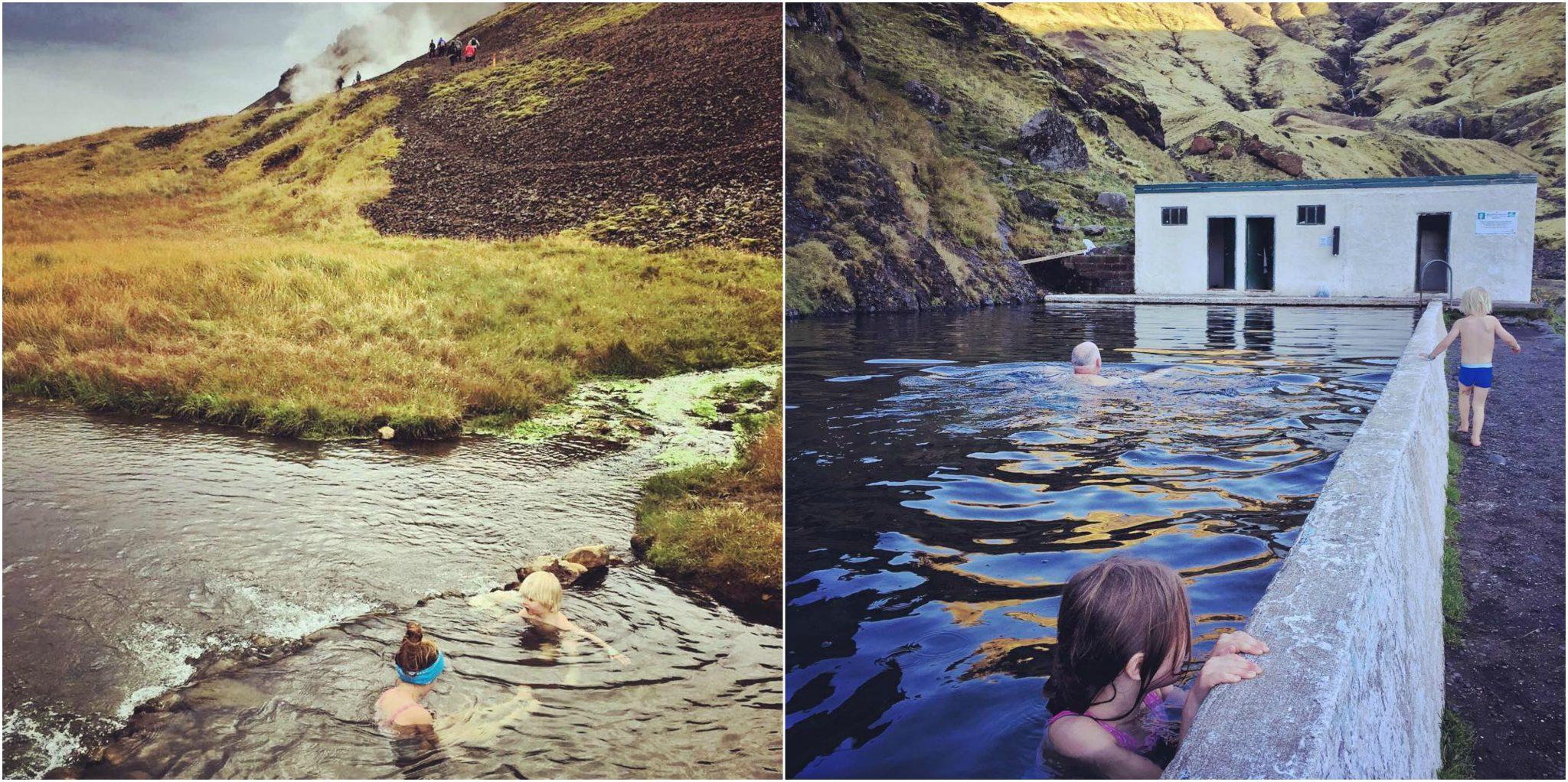 Islannin kuumat lähteet / Satu VW / Satumilla-blogi