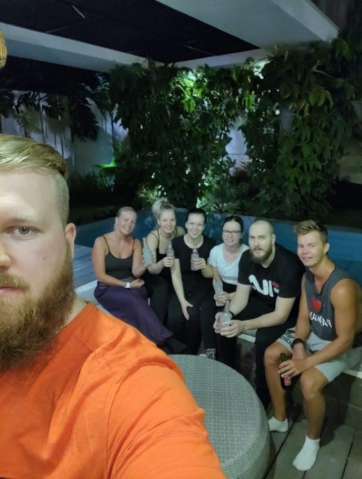 Lomalla kavereiden kanssa, Bali ja Nusa Penida