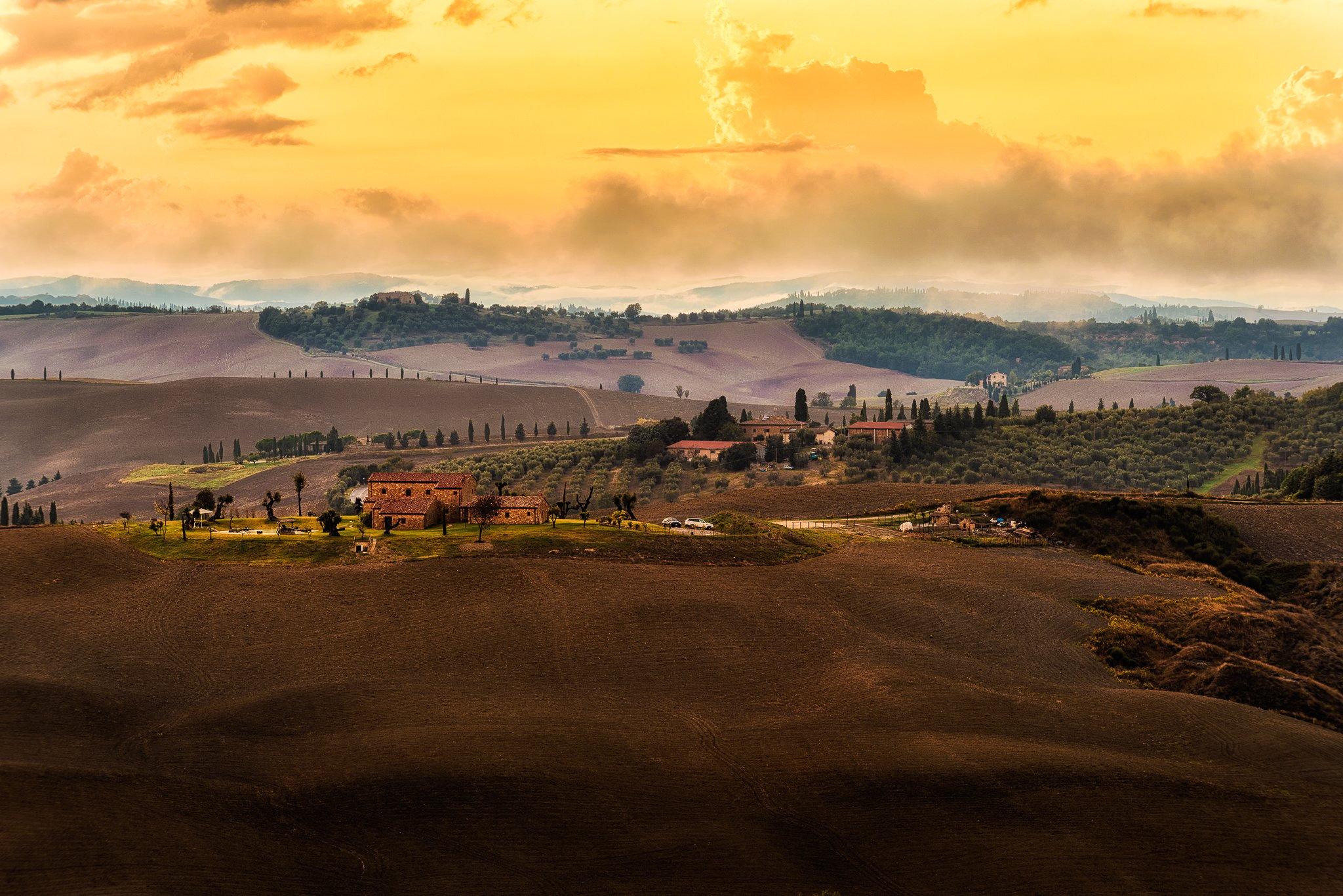 Maaseutumatkailua Toscanassa