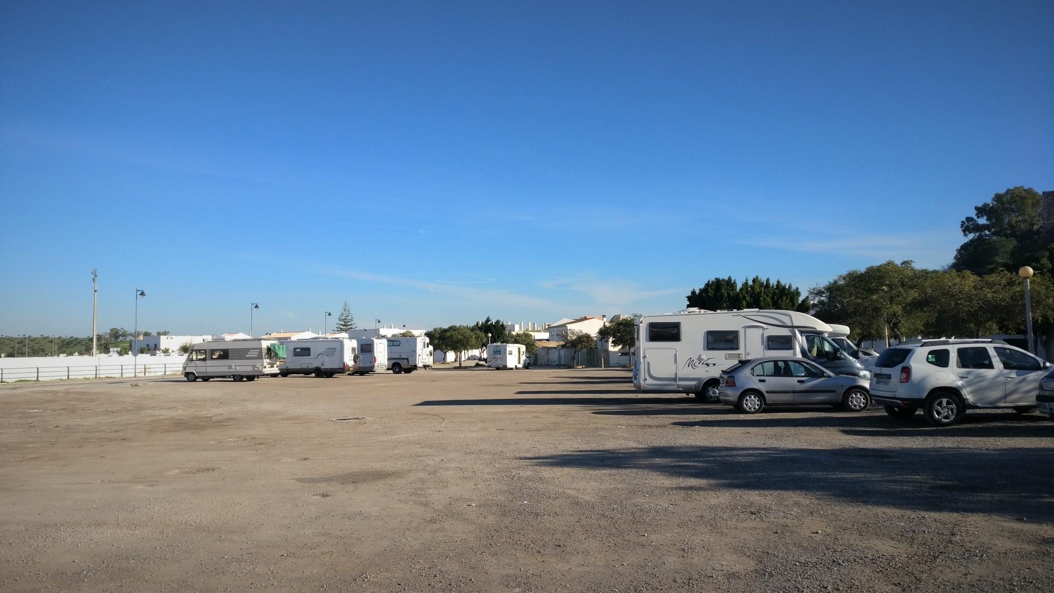 Caravan parking Portugal