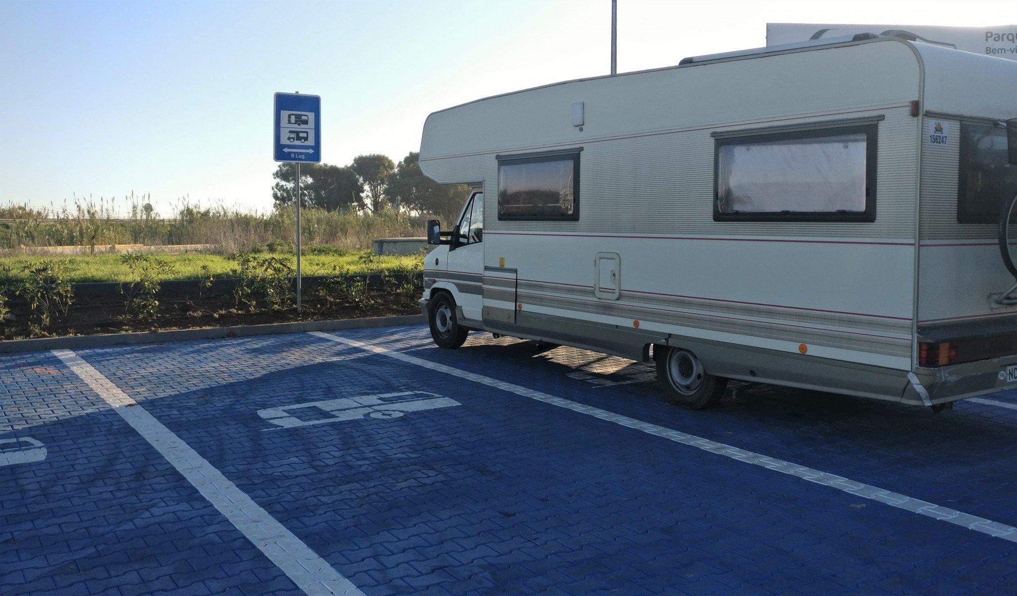 Lidl caravan parking