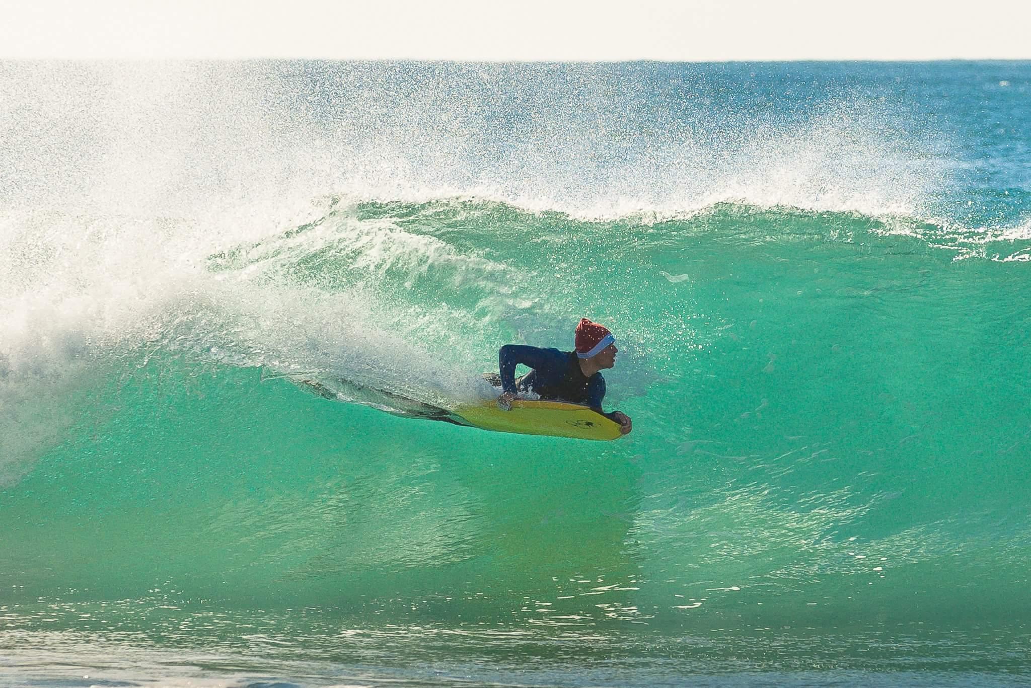 Surfing Santa Claus Portugal