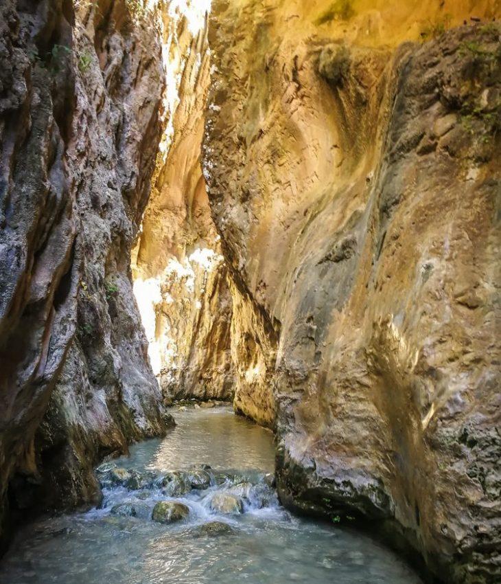 Rio Chillar patikointireitti Nerjassa