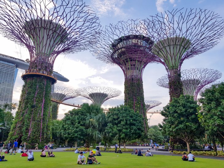 Gardens by the bay paivalla