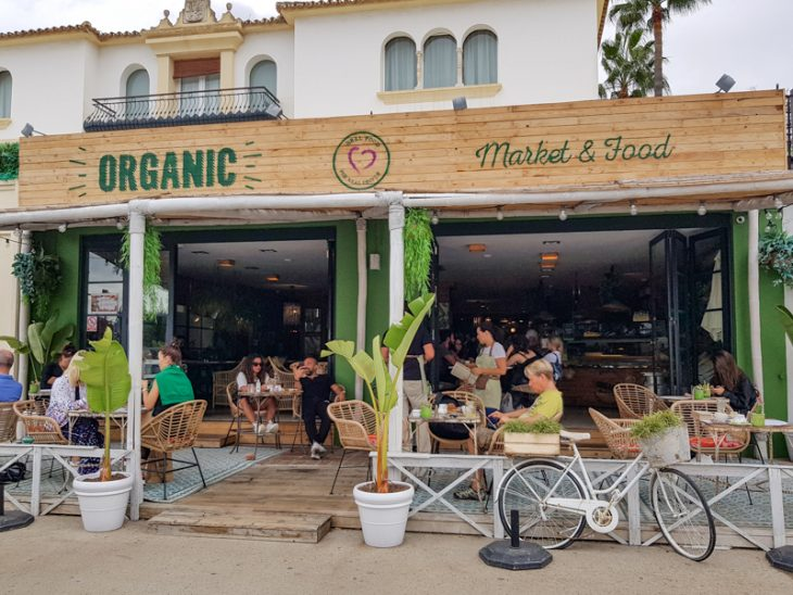 orgaaninen kahvila espanjassa