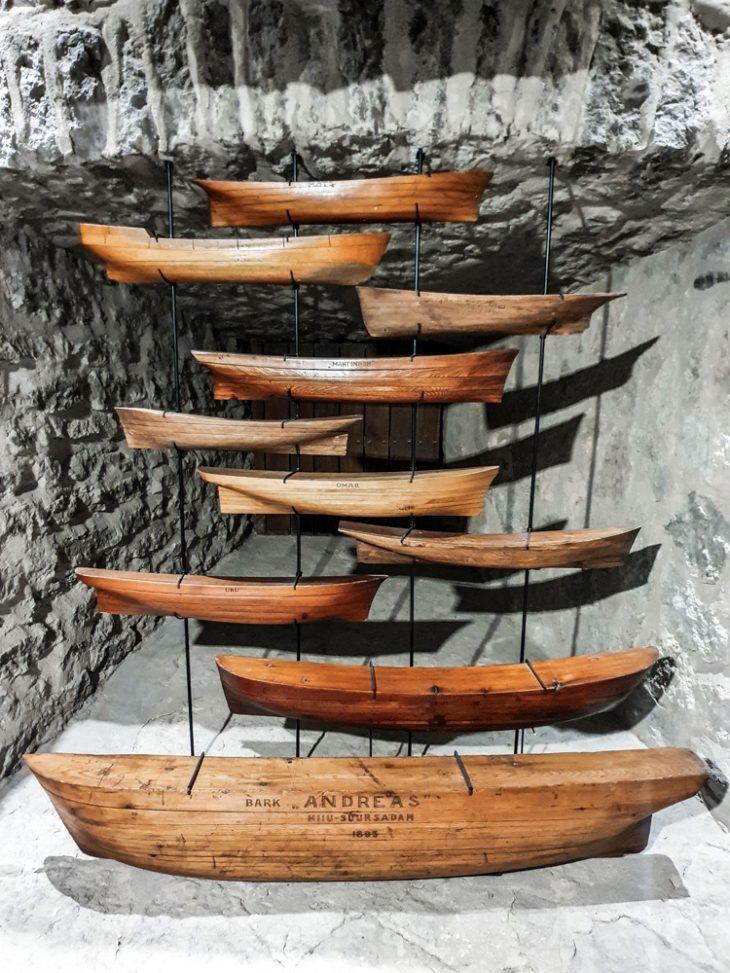 meriaiheisia esineitä Tallinnan merimuseossa