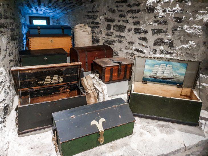 Matka-arkkuja esillä Paksun Margareetan merimuseossa