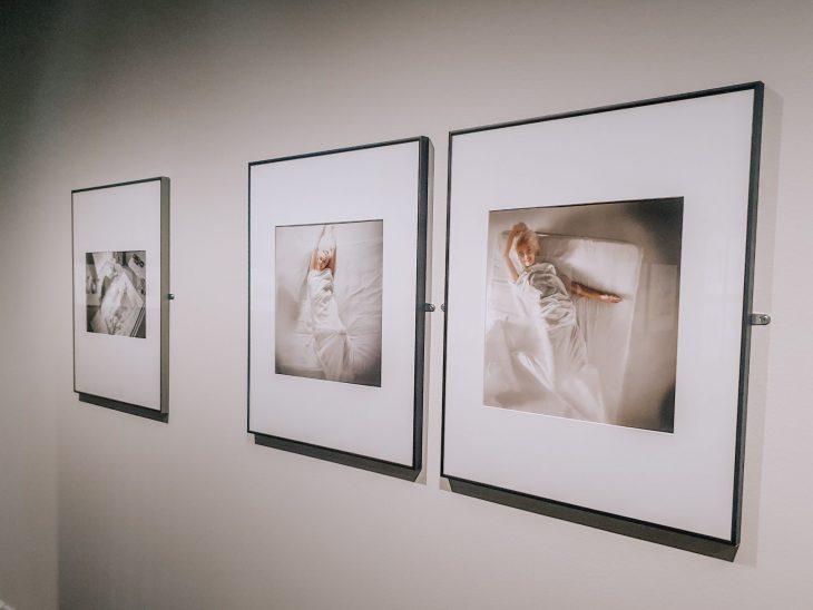Marilyn Monroe valokuvanäyttelyn kuvia