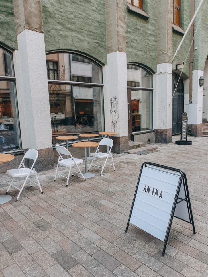 Anima kahvila Helsingissä