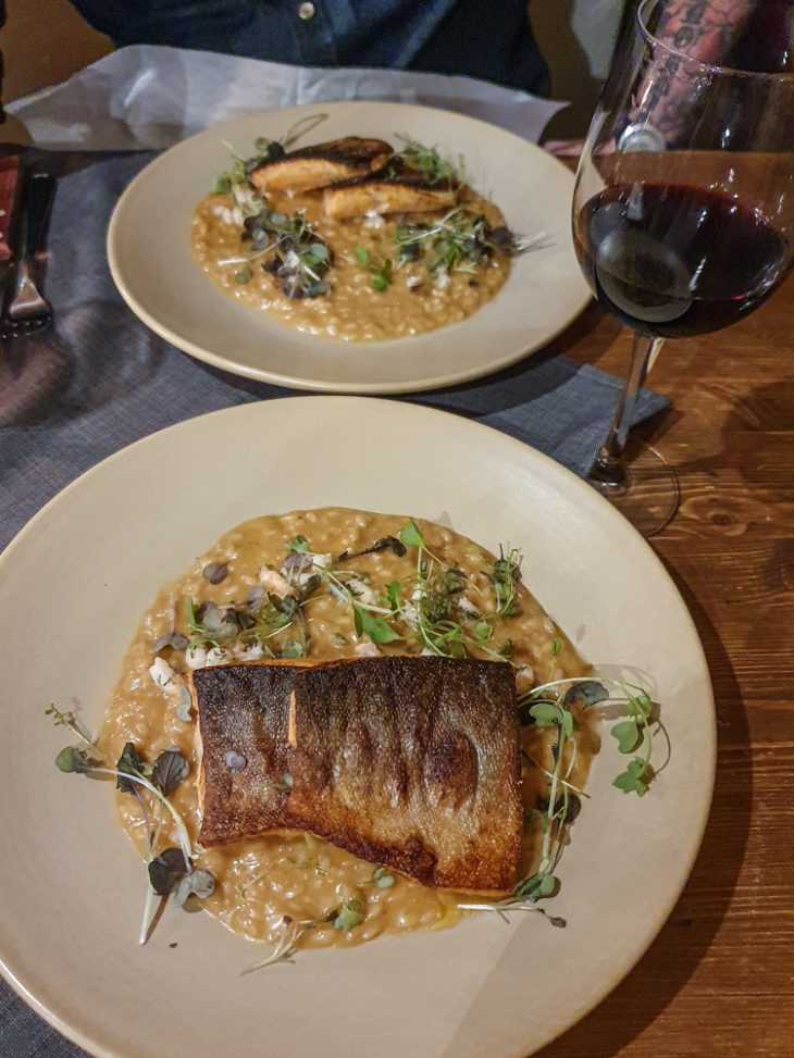 Kala-annos ravintola Ämmilässä