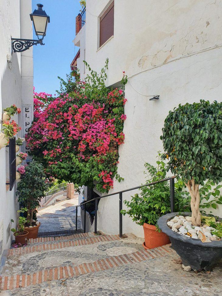 Valkoinen kylä Frigiliana