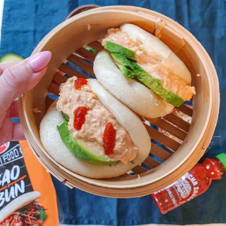 Bao Bun resepti Tulinen tonnikala höyrysämplyä
