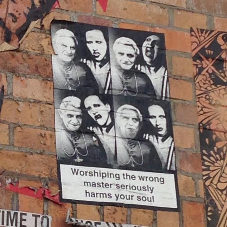 Ajatuksia herättävää taidetta Berliinin seinillä