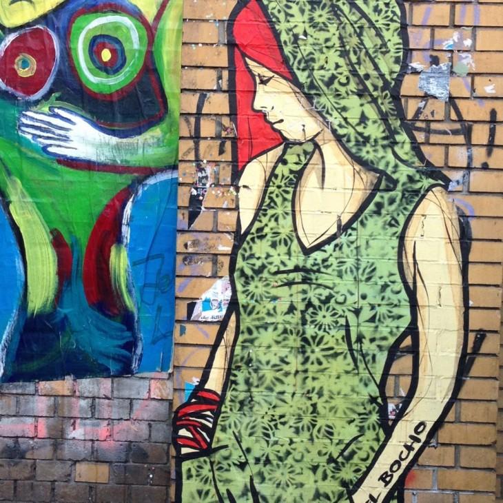 El Bochon tyttö Berliinissä