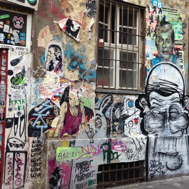 Katutaide on iso osa Berliinin viehätystä