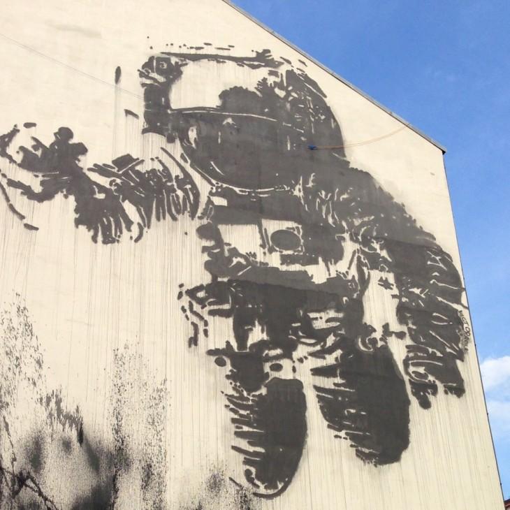 Victor Ashin kuuluisa Astronaut / Cosmonaut Kreuzbergissa