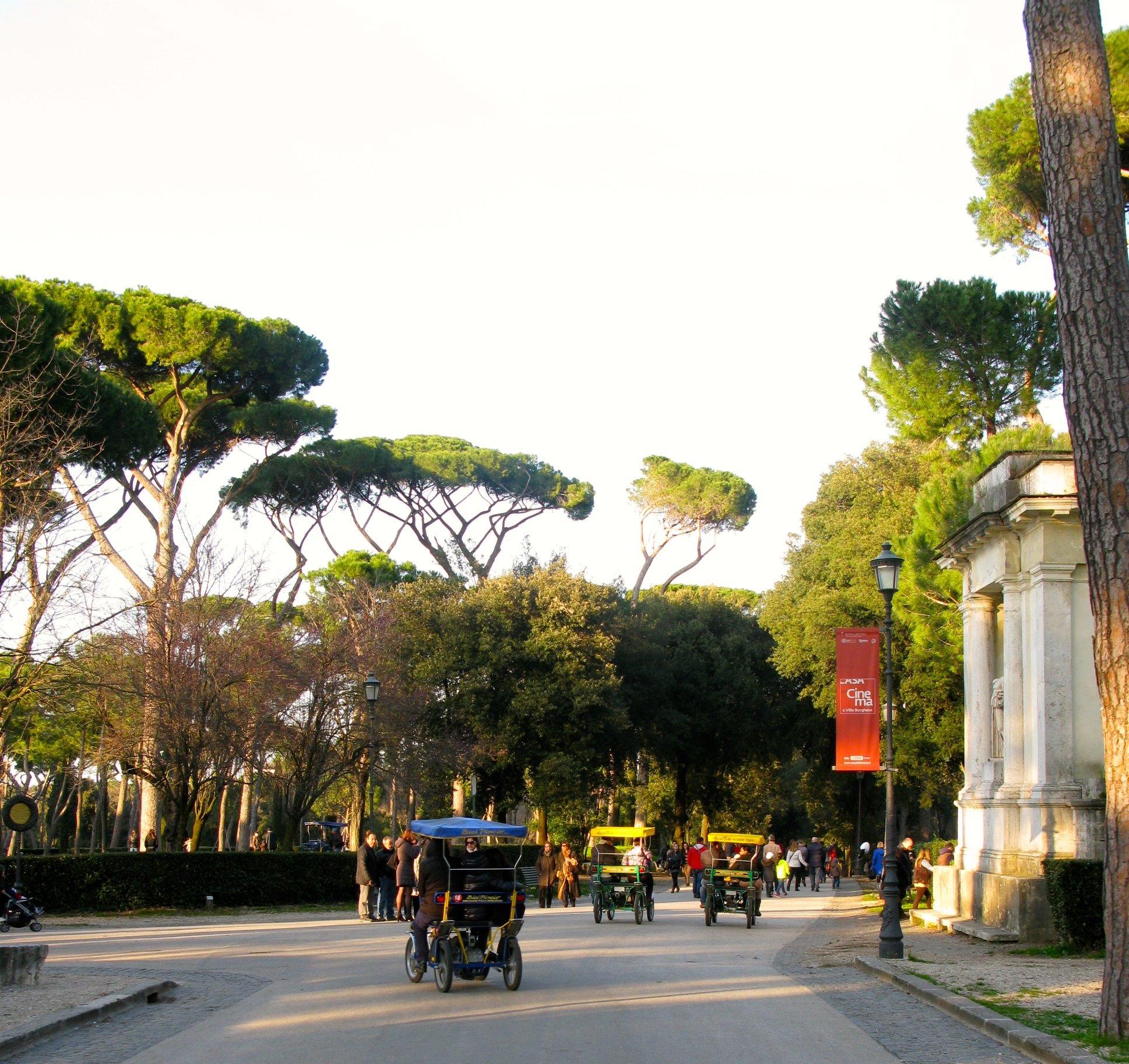 Villa Borghese Rooma