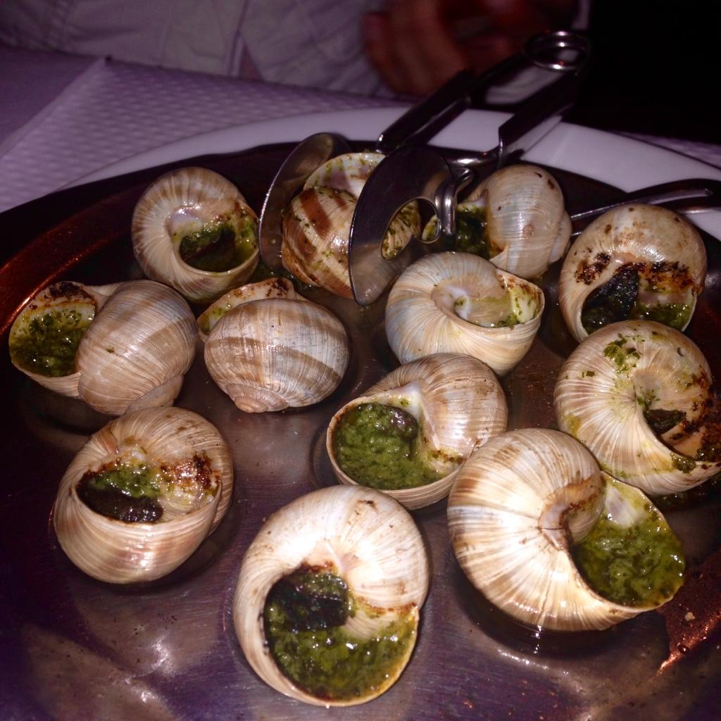 Les escargots aka snails