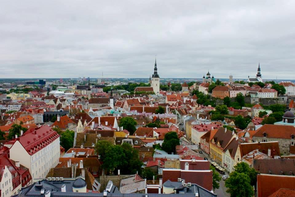 Tallinna näkymä