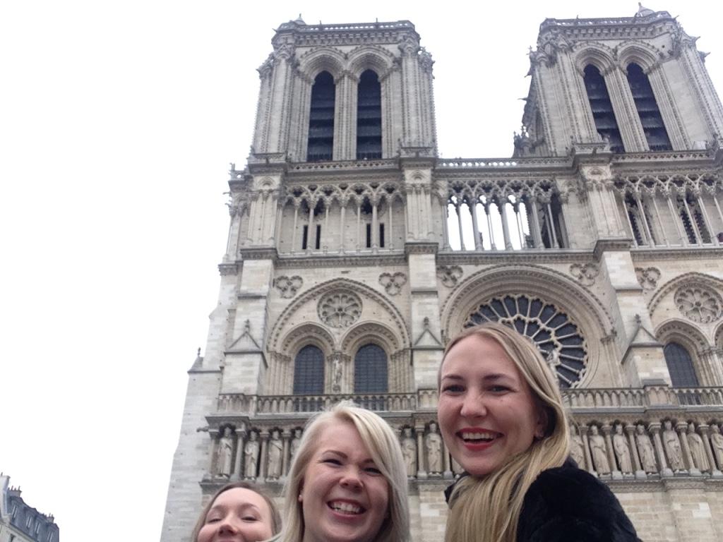 Selfie Paris Notre Dame