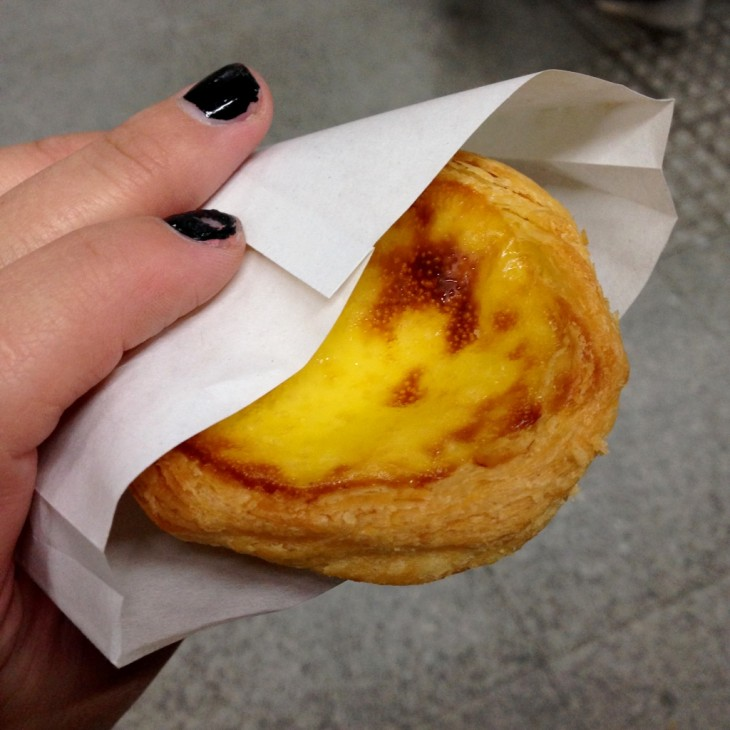 Chinese egg tart
