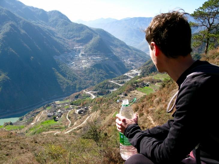 Tiger Leaping Gorge Kiina blogi