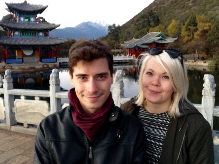 Lijiang China Kiina selfie