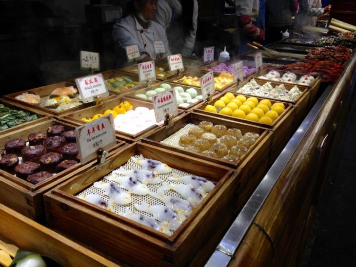 Lijiang China Kiina food