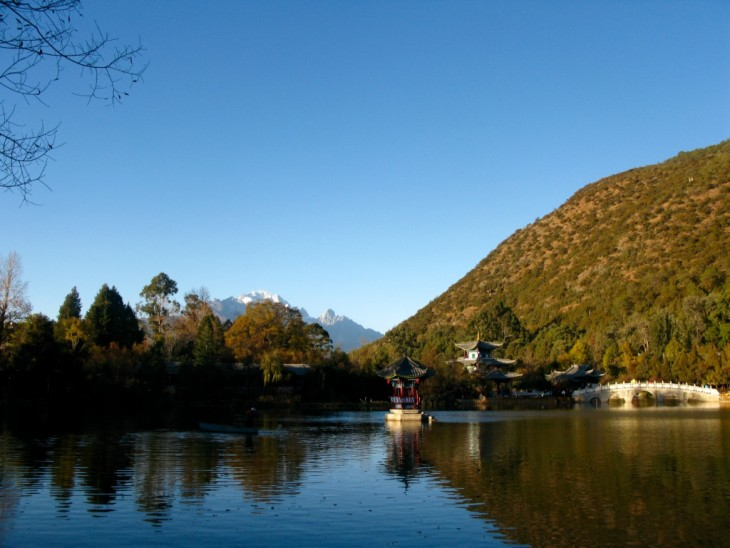 Lijiang China Kiina view