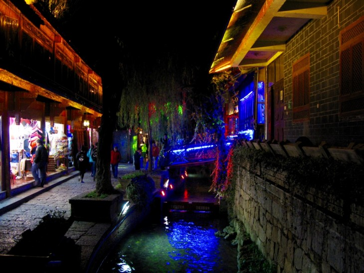 lijiang old town yunnan china