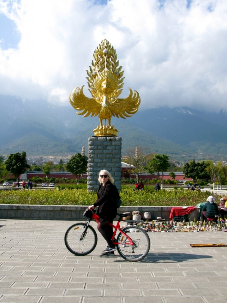 Biking in Dali