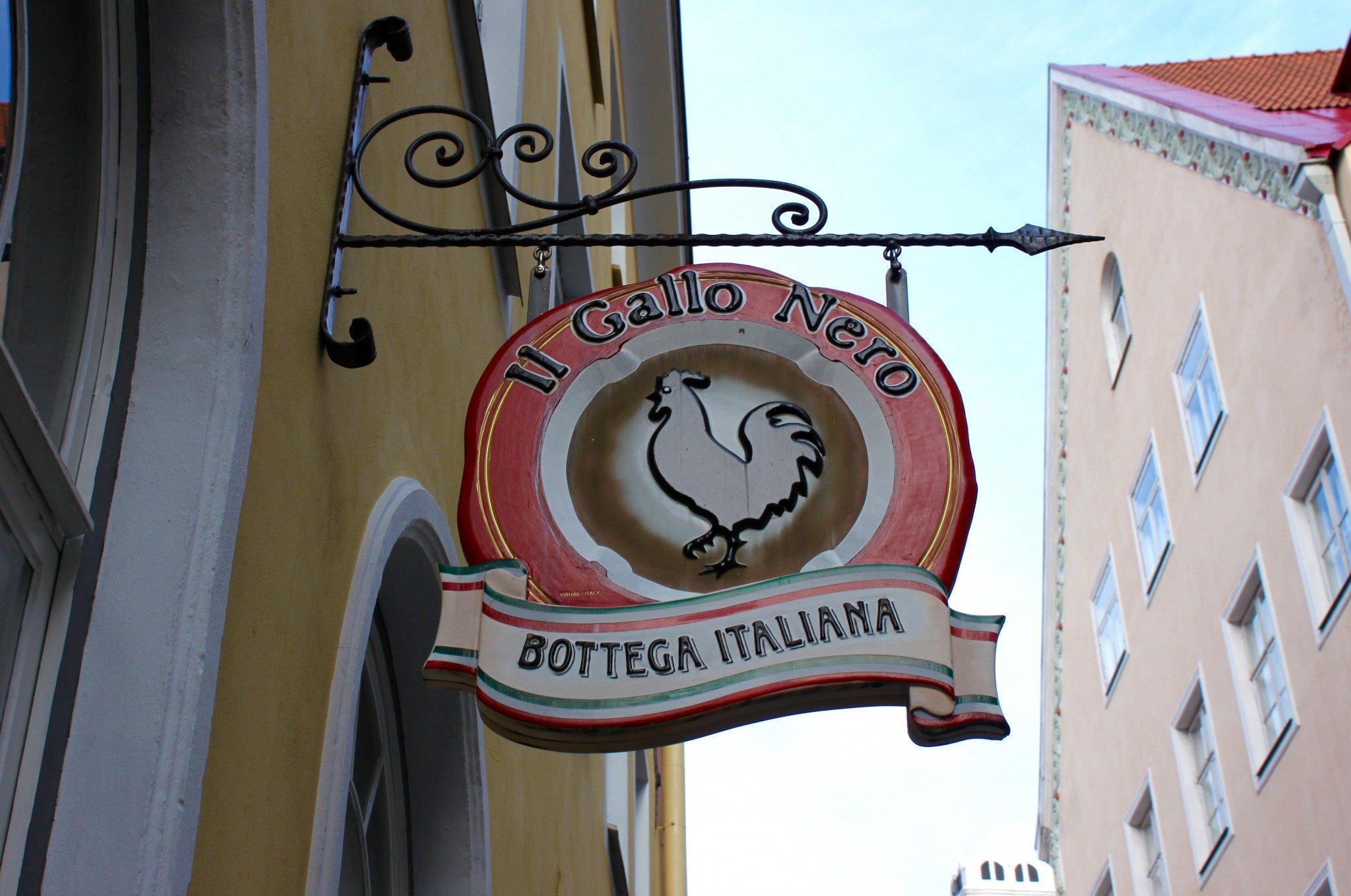 Osteria del Gallo Nero Tallinn