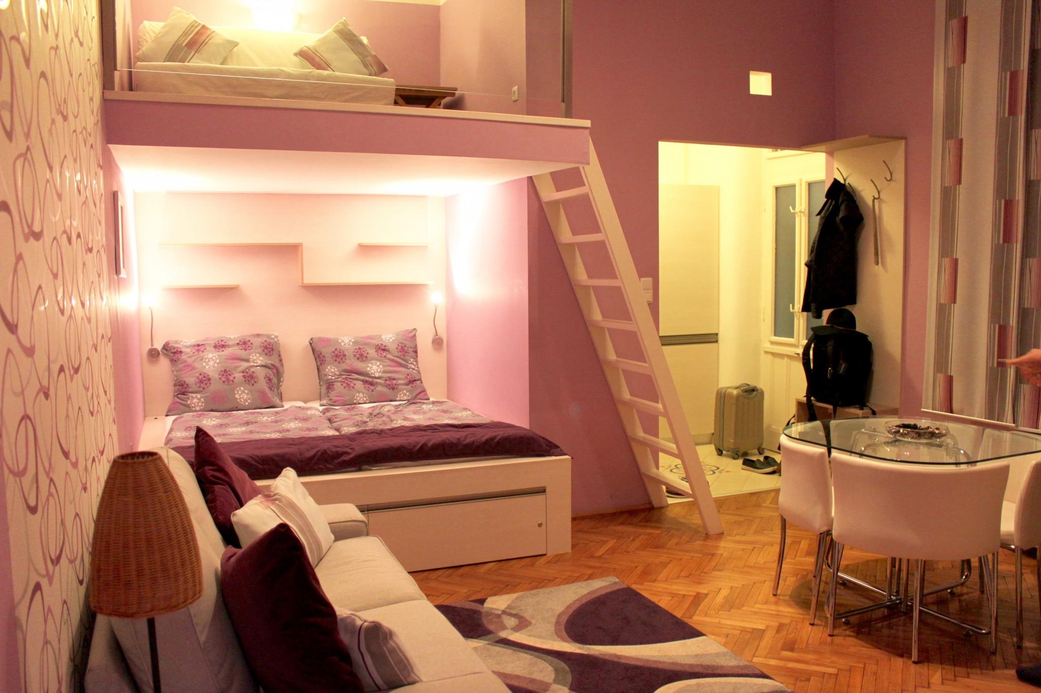 Airbnb-huone Budapestissa