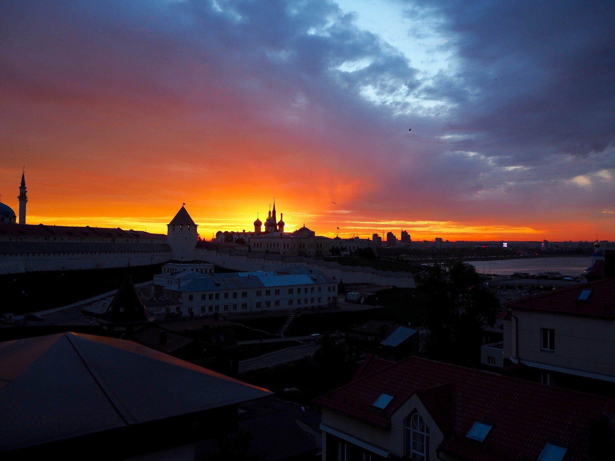 Kazan sunset