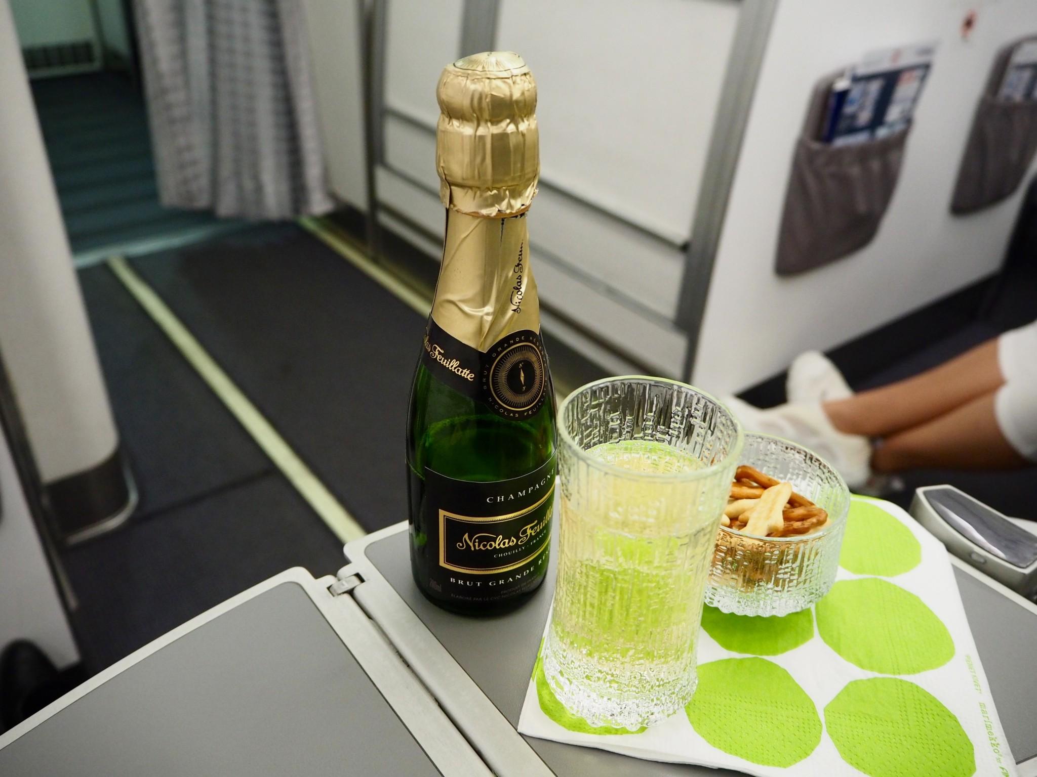 Finnair/Norra businessluokka