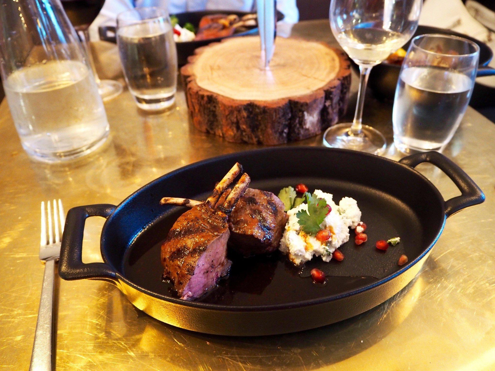 Ravintola Roster Helsinki pääruoka
