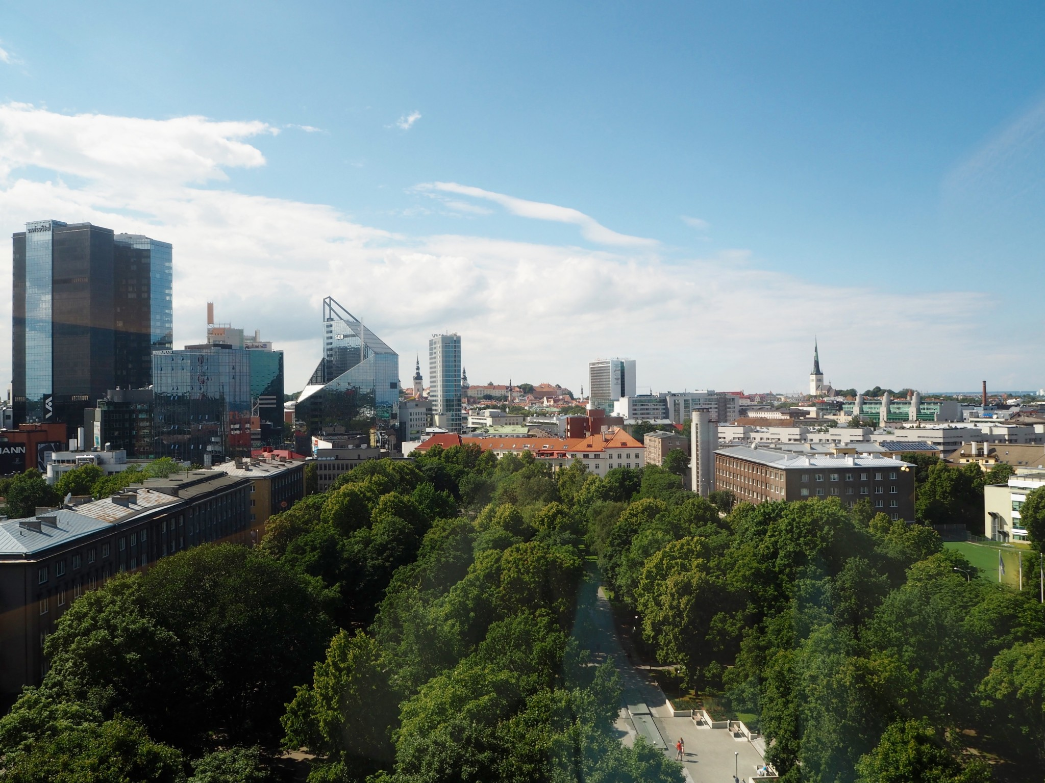 Hilton Tallinn Park hotelli Tallinna