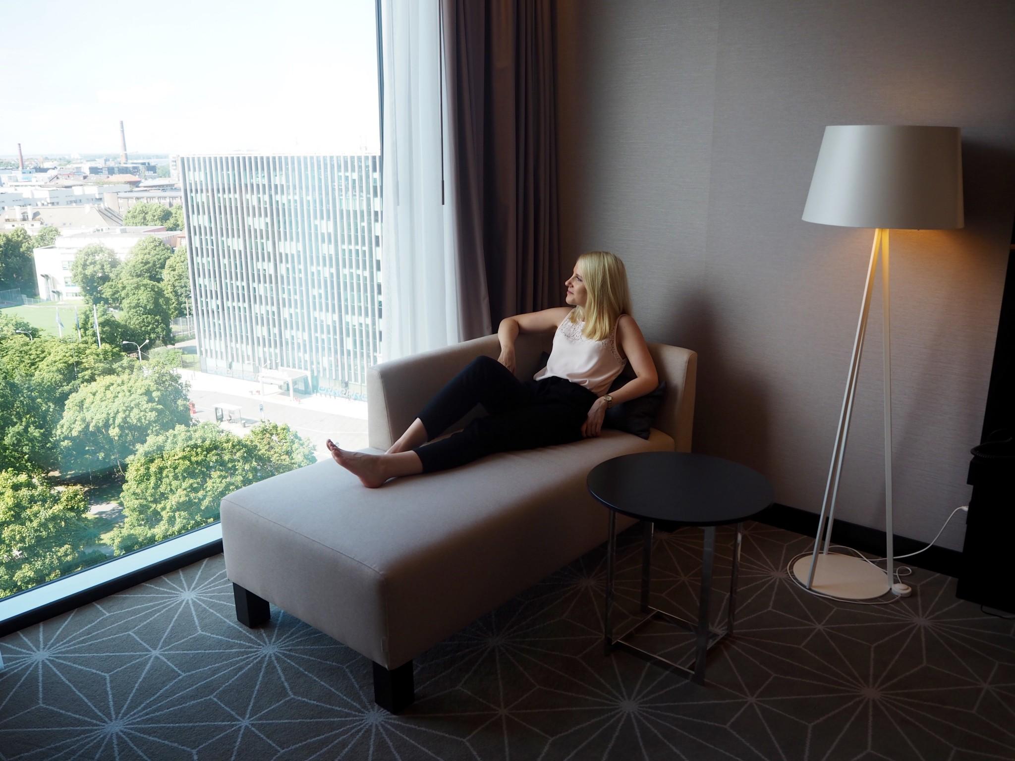 Hilton Tallinn Park hotelli Tallinna deluxe-huone