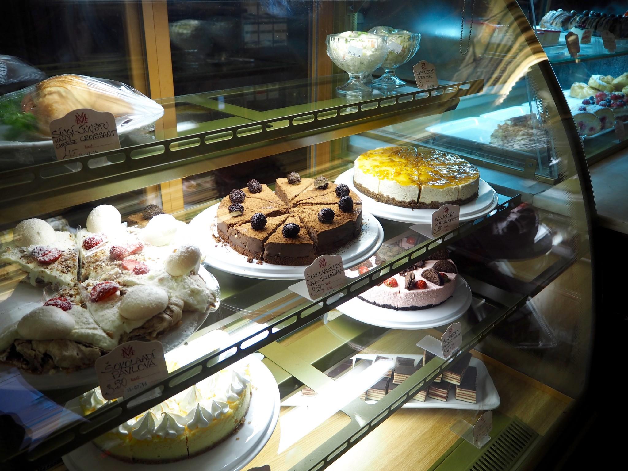 Maiasmokk-kahvila Tallinnassa