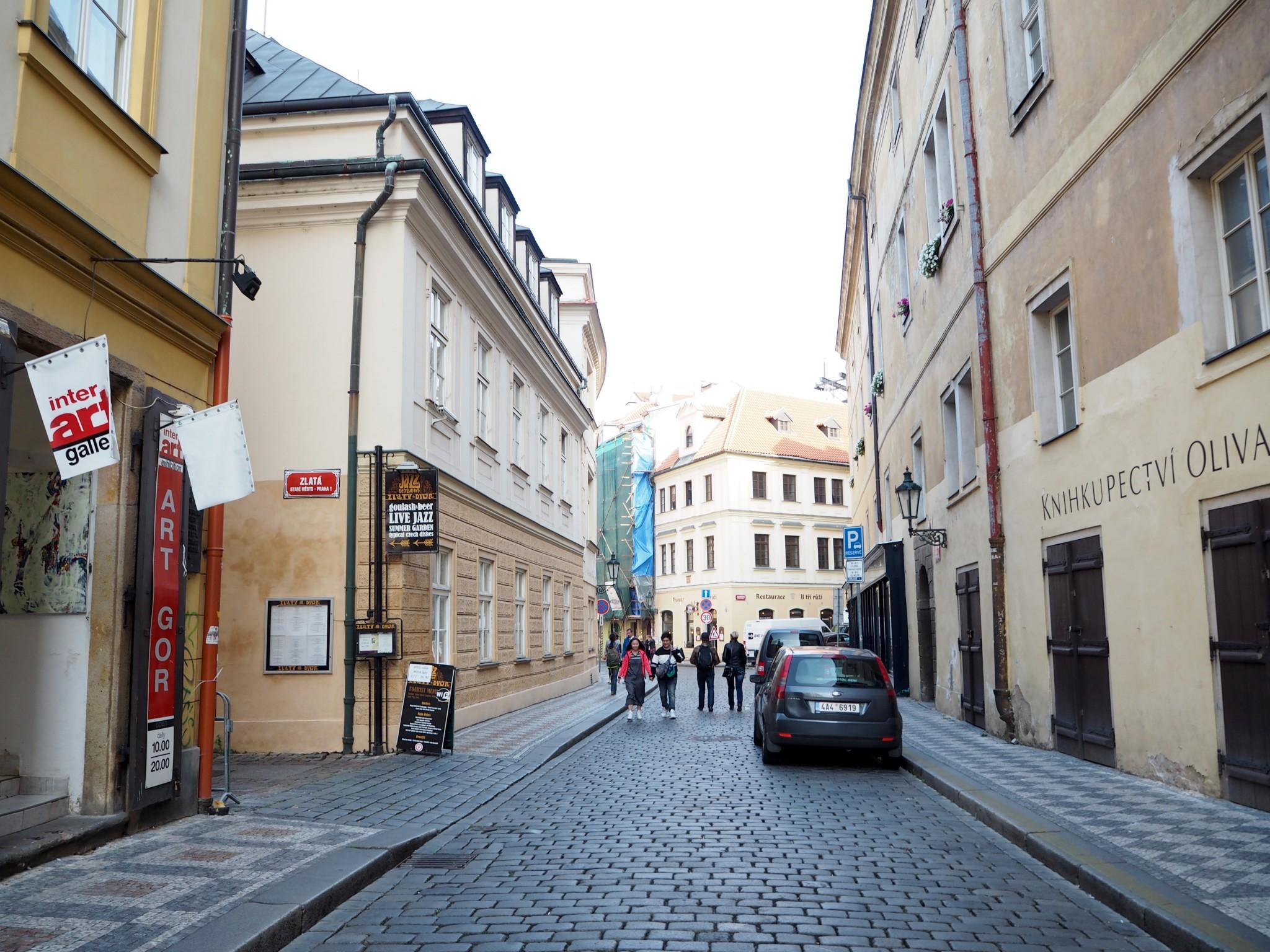 Prahan vanha kaupunki