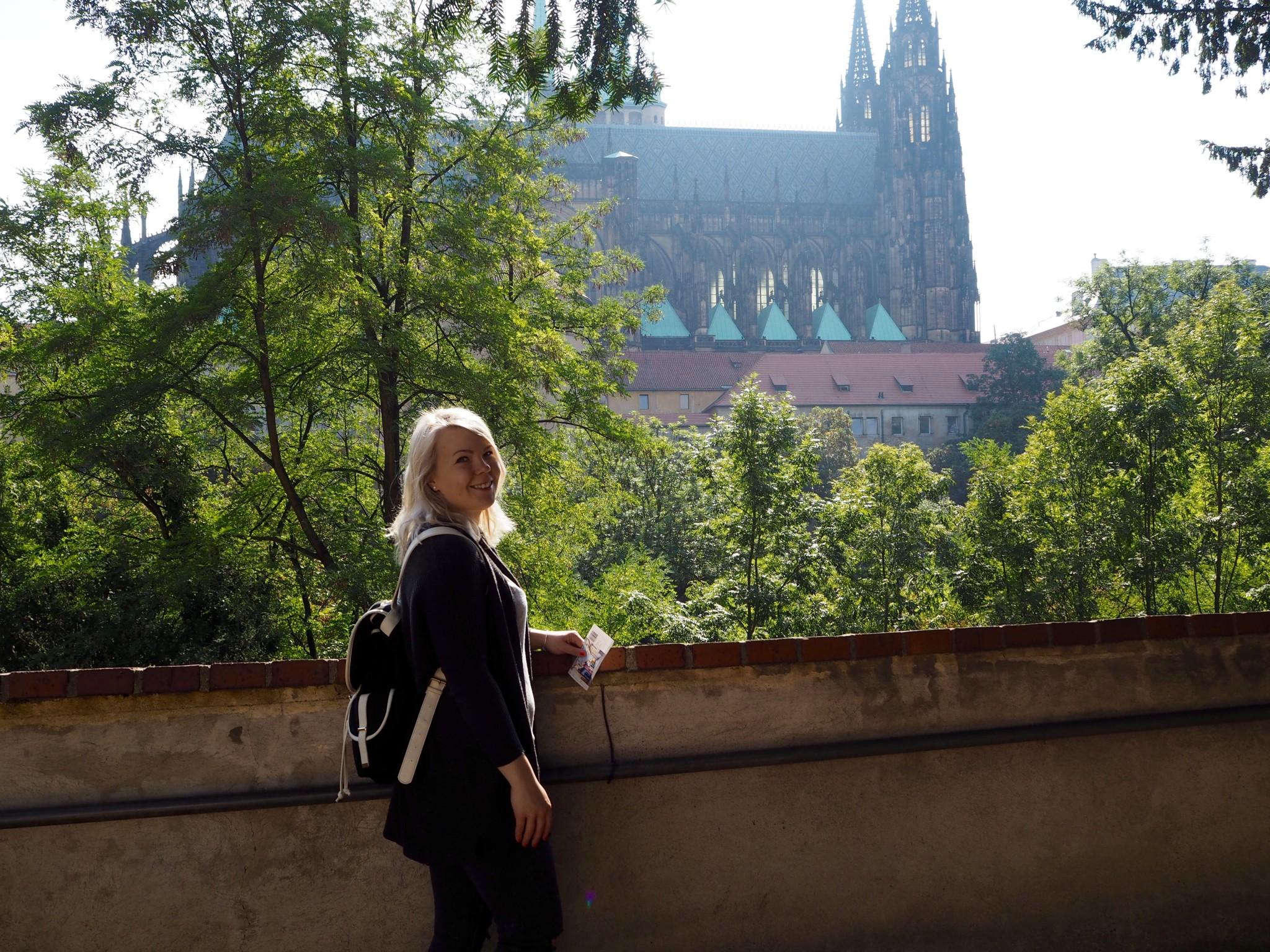 Prahan linnalla