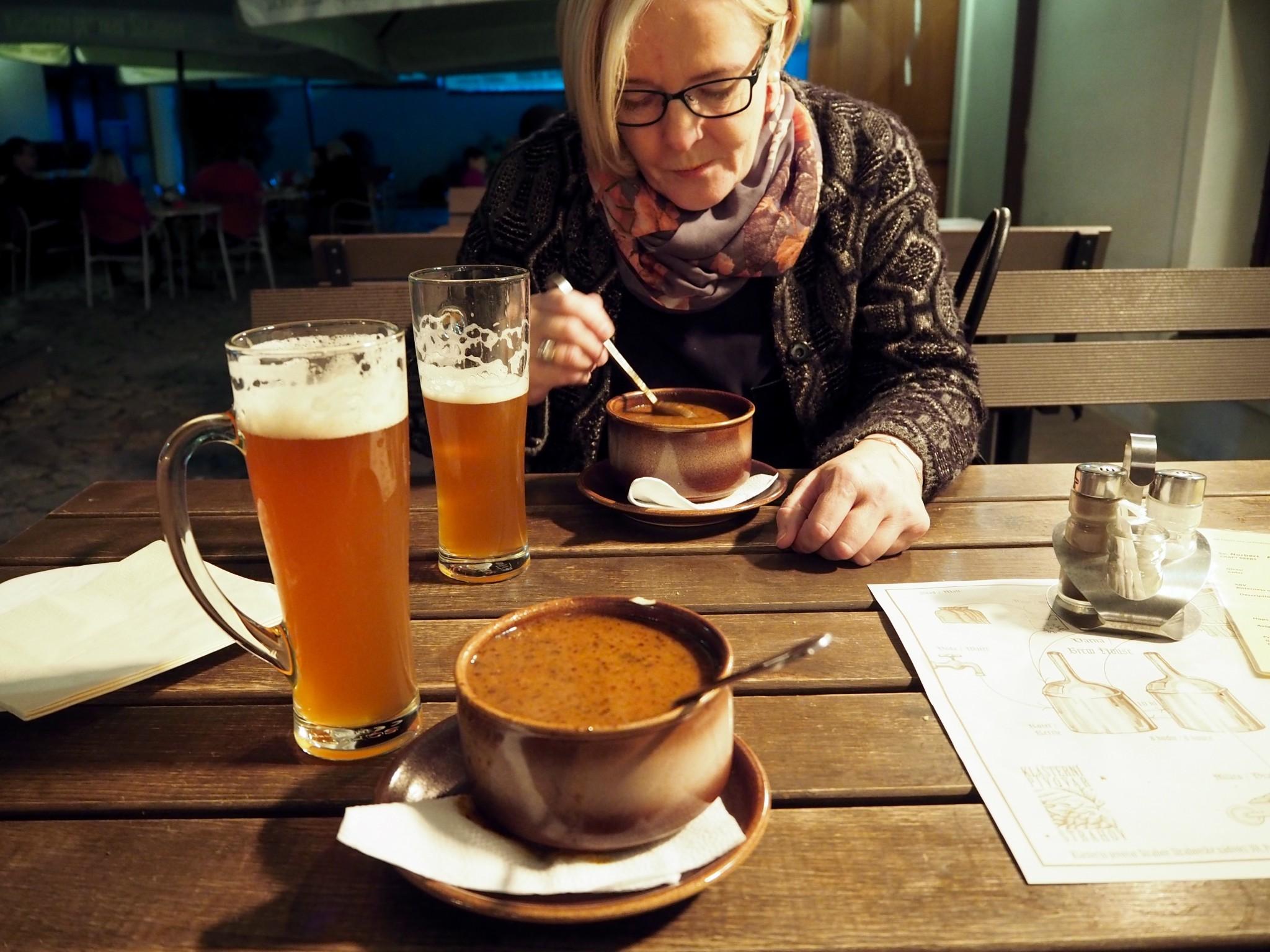 Prahan ravintolat: Strahovin luostari