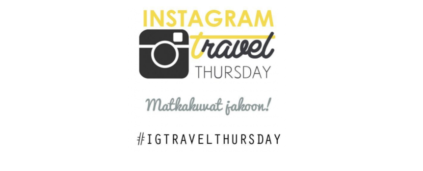 Instagram Travel Thursday