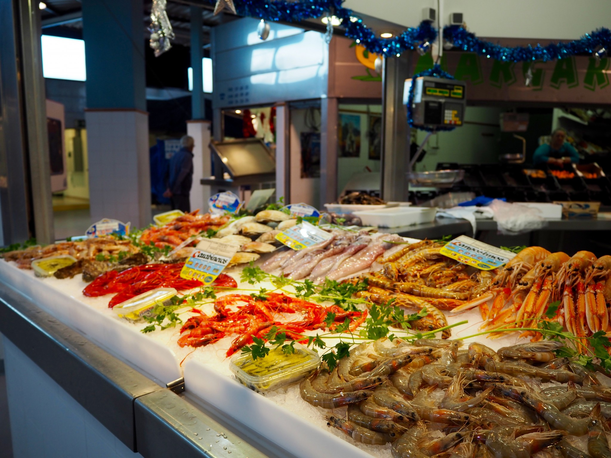 Aurinkorannikko Marbella kauppahalli