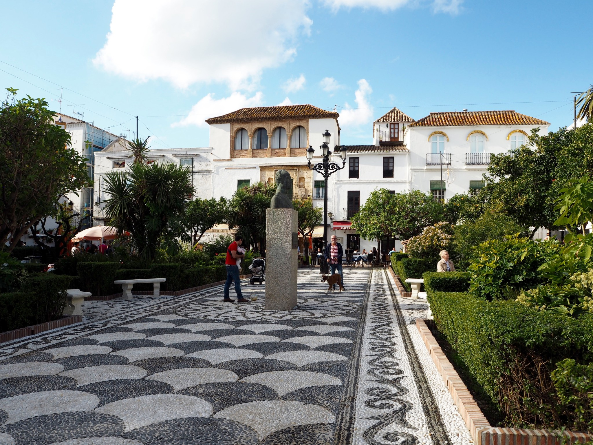 Aurinkorannikko Marbella vanha kaupunki