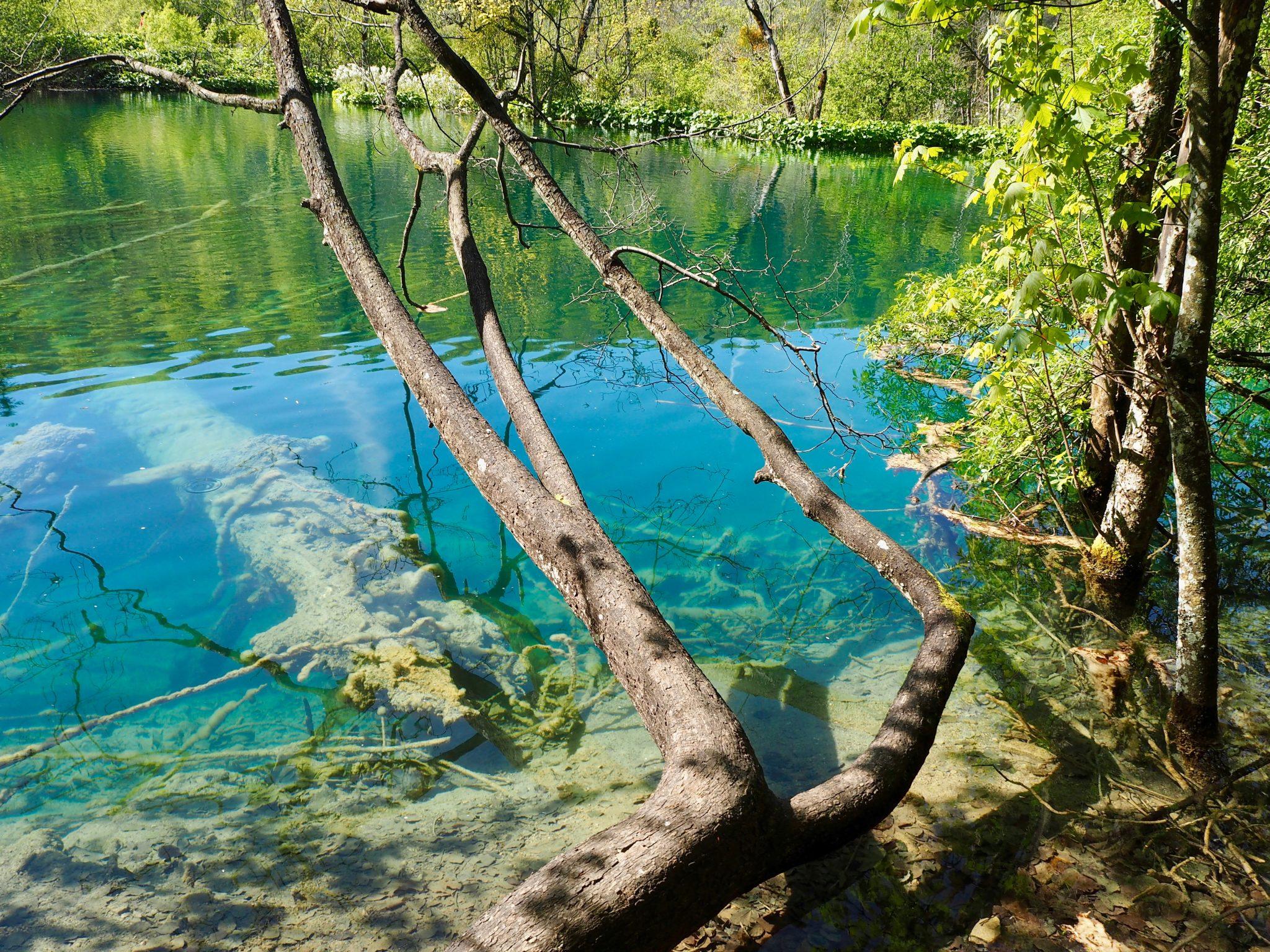Plitvicen kansallispuisto Kroatiassa