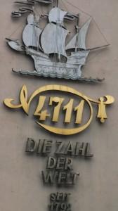 Vanha tuttu Kölninvesi.