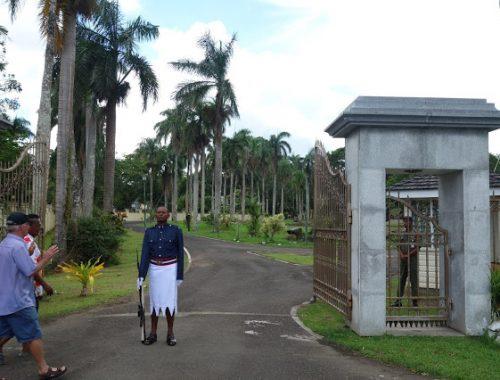 Presidentin puutarha