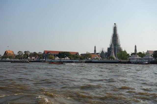 Bangkok river Wat Arun
